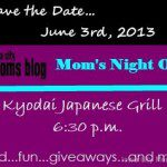 Mom's Night Out: Giveaway!! {Closed}