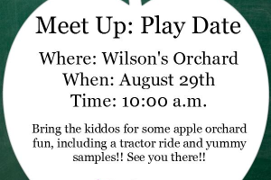 Wilsons Orchard Play Date