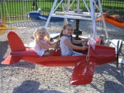 airplane city park rides