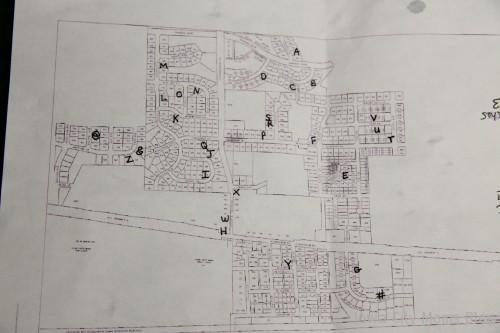 garage sale map
