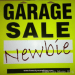 Confessions of a Garage Sale Newbie