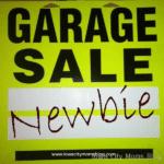 Confessions of a Garage Sale Newbie
