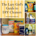 The Lazy Girl's Guide to DIY Homemade Cleaners