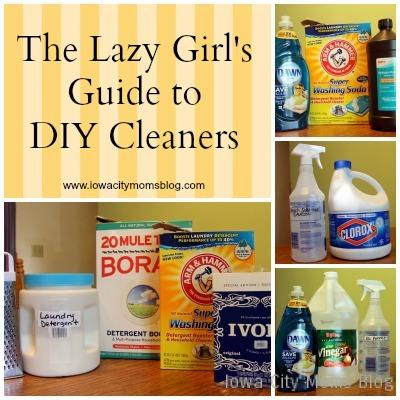 lazy girls guide to diy cleaners