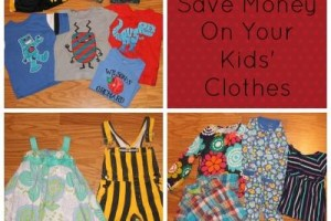 5 ways to save money on kids' clothes