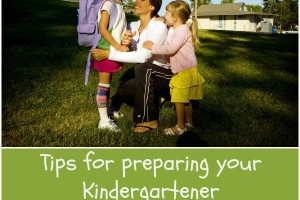 Preparing Kindergartener for School