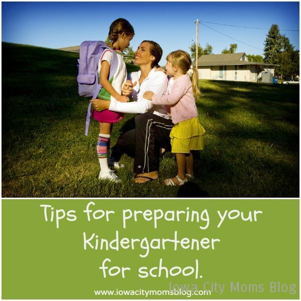Preparing Kindergartener for School