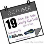 Save the Date!  ICMB Charity Run/Walk!