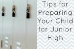 prepare for junior high