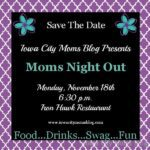 Mark Your Calendars for Our Next Moms Night Out!!