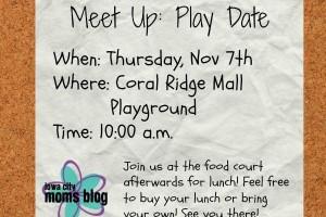 mall meetup 11-7