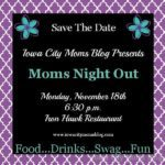 Moms Night Out is MONDAY!  {Happy Giveaway!}