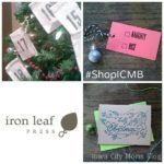 ICMB Holiday Shopping Guide {GIVEAWAY}: Iron Leaf Press {Closed}