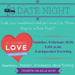 Iowa City Moms Blog Presents: Date Night!