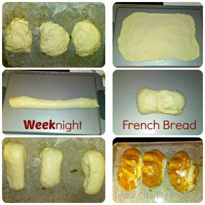 Weeknight French Bread Collage 2 ICMB
