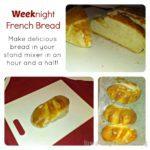 Weeknight French Bread