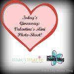 GIVEAWAY:  Valentine's Mini Session!