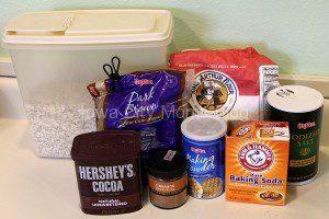 Make Ahead Recipe Jars - Ingredients