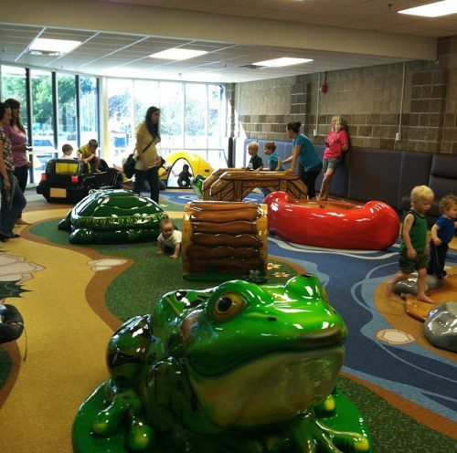 north liberty rec center, north liberty kids campsite, indoor play places in iowa city