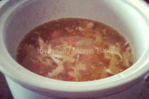 chicken noodle soup crock pot