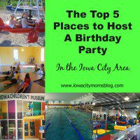Top 5 Places to Host a Birthday Party