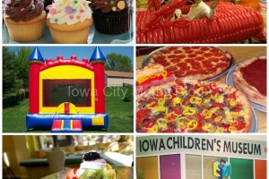birthday parties collage