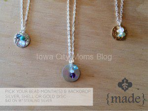 made mothers day giveaway necklace