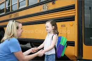 Back to school jitters - bus