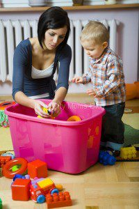 babysitter - MS stock photo