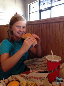 Shelly's daughter, Hailey (9 years old now).