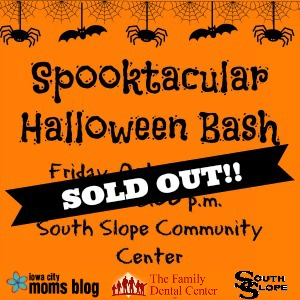 Spooktacular Halloween Bash Sold Out