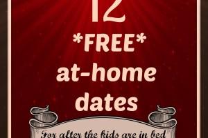 Twelve Dates 1