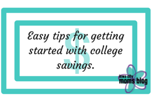 Easy tips for getting started with college savings