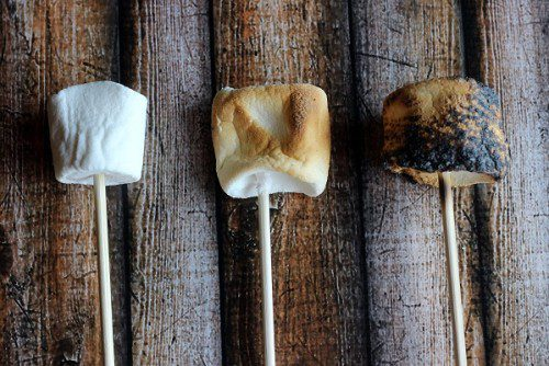 s'more tabletop smores
