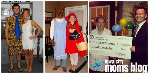 Just a taste of our pre-baby costumes. Always festive.