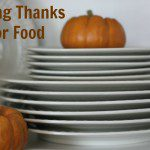Giving Thanks for Food