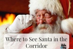 Santa Claus in the Corridor