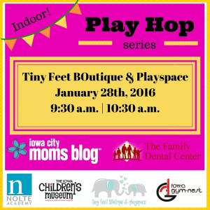 Indoor Play Hop - Tiny Feet Square