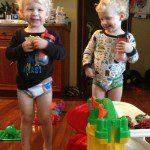 Potty Training: Twinning Edition