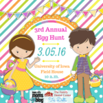 Iowa City Moms Blog and TriDelta's 3rd Annual Egg Hunt Event 2016!! {Tickets On Sale Now}