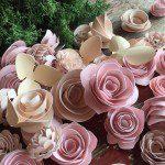 Love is in {BLOOM} – A Paper Flower Tutorial
