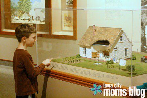 Herbert Hoover Museum in West Branch Iowa