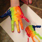 St. Patrick's Day Handprint Craft