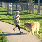 A Mom and the Family Dog….A Love Story