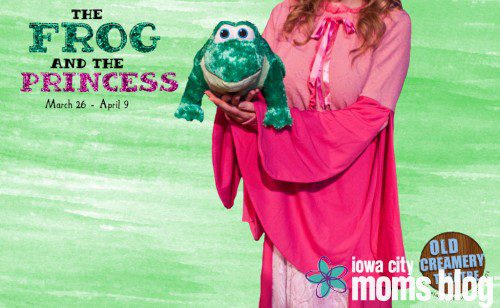 Old Creamery Theatre Frog Princess