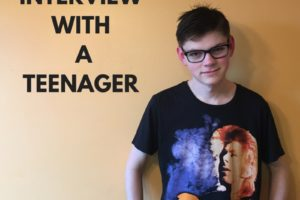 INTERVIEW WITH ATEENAGER