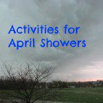 Activities for April Showers