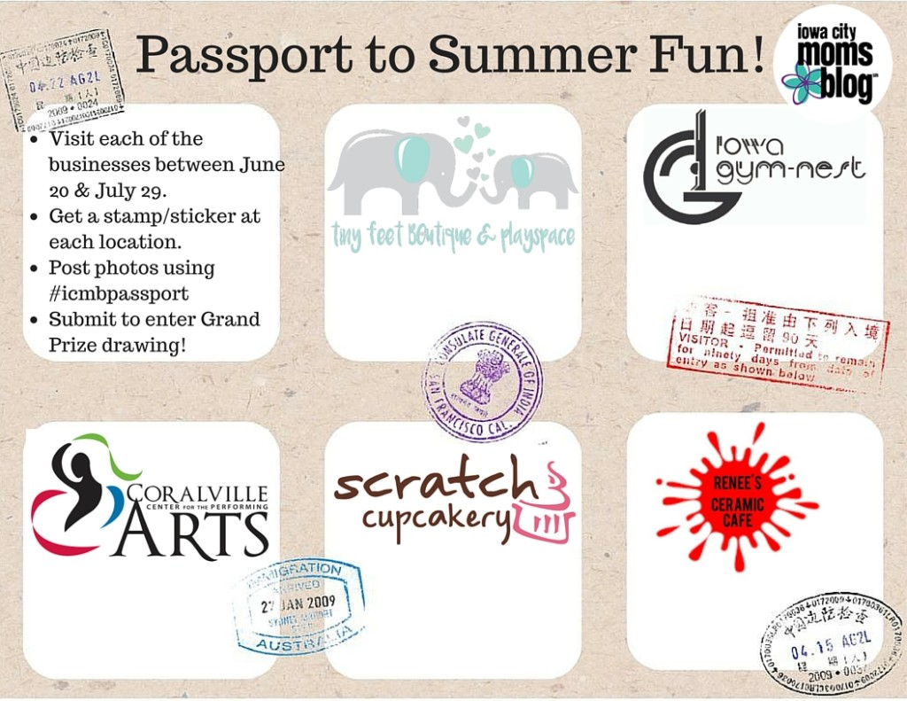 PASSPORT TO SUMMER FUN_Iowa CITY