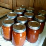 Adventures in Home Canning: The Spaghetti Sauce Edition