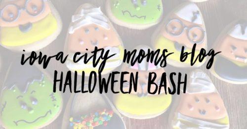 Iowa city moms blog halloween bash event